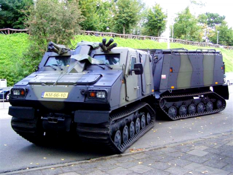 BvS10 Viking armoured personnel carrier