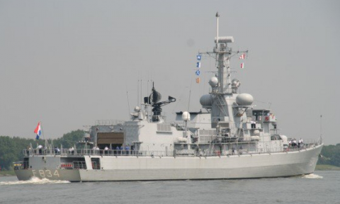 "Multipurpose fregat ""Hr.Ms. Van Galen (F834)"""