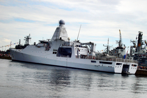 "Oceangoing Patrol Vessel (OPV) ""Zr.Ms. Holland (P840)"""