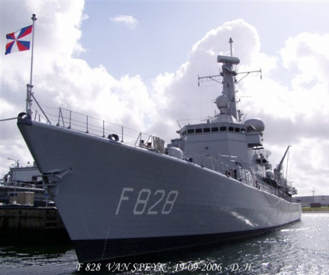 "Multipurpose fregat ""Zr.Ms. Van Speijk (F828)"""